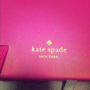 Hot pink mini Kate Spade journal